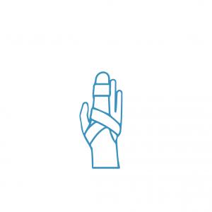 Férulas para dedo